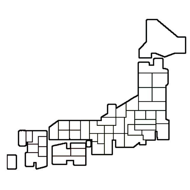 完全無料の日本地図イラスト集 ...