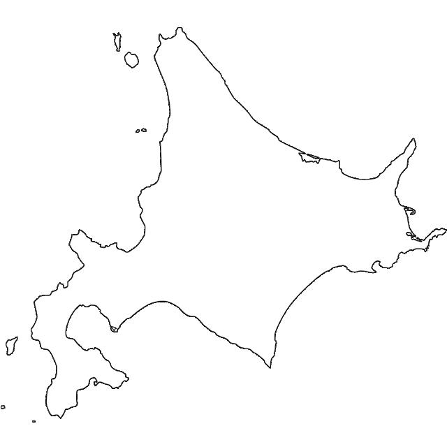 日本 白地図 日本 フリー : 無料の日本地図イラスト集 ...