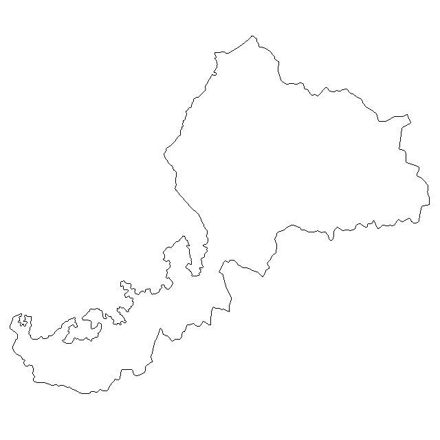 無料の日本地図イラスト集 - 福井県「白地図(県境のみ)」 : 福井県 白地図集 - NAVER