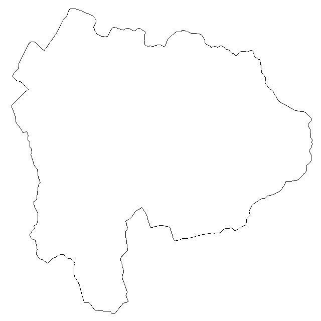 無料 白地図 無料 : 白地図 山梨県地図素材 [日本 ...