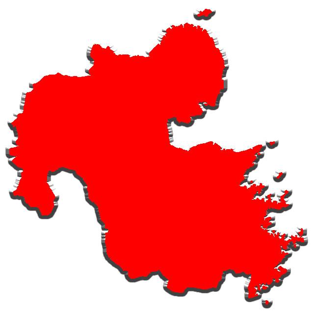... で使える日本地図のイラスト集 : 地図 東北地方 : すべての講義