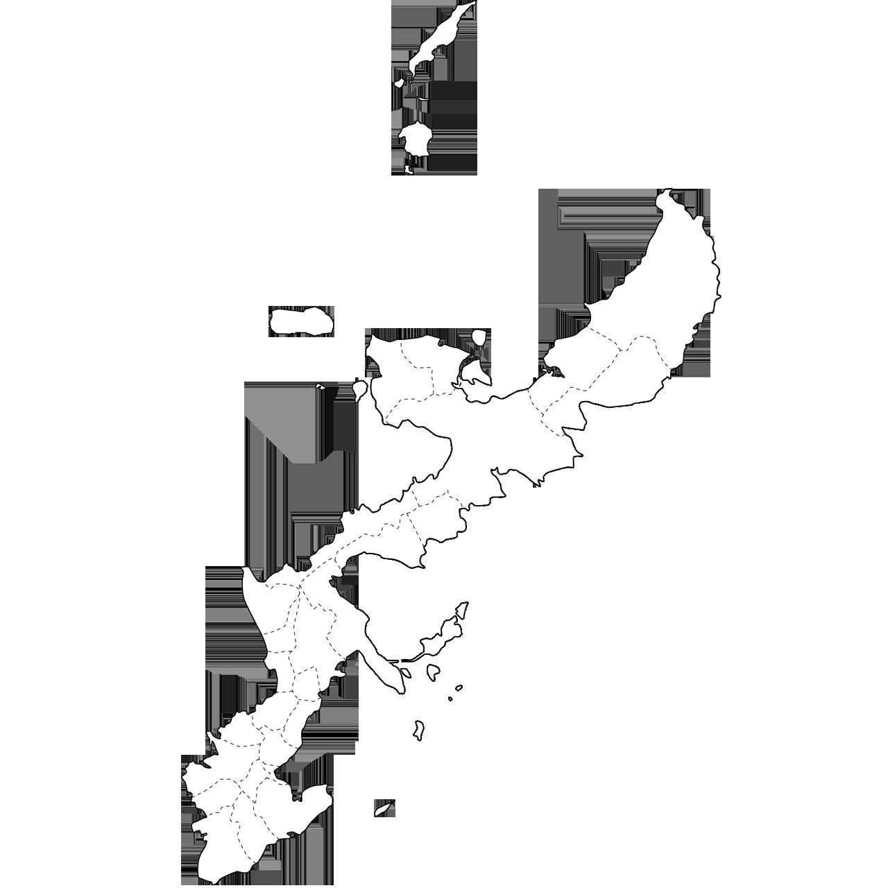 ... 沖縄県「白地図(市町村境も